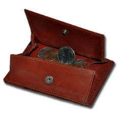 Magic Wallet Coin Pocket Burgundy