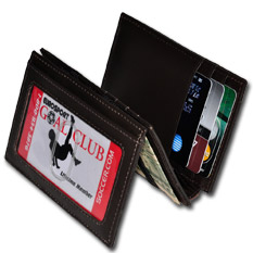 Magic Wallet Plus Window Brown