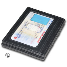 Original Magic Wallet Window Black